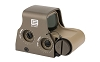 EOTech, Tactical, Holographic, Non-Night Vision Compatible Sight, 68MOA Ring with 1MOA Dot, Tan Finish, Rear Buttons, includes CR123 Battery