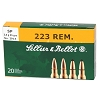 Sellier & Bellot  223 Remington 55 Grain Soft Point 20 Round Box