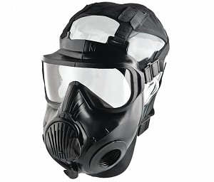 Avon C50 Twin Series Respirator Tactical CBRN Full Face Mask, Size M